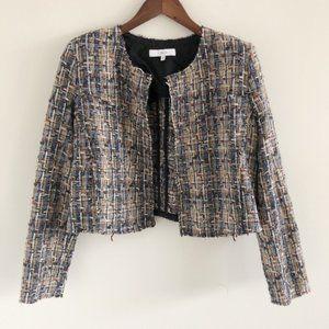 IRO Hella Tweed Cropped Cardigan Jacket 42 / 10
